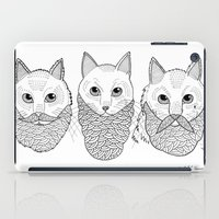 Cats With Beards iPad Case