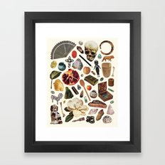 ARTIFACTS Framed Art Print