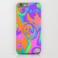 Abstract Tie Dye iPhone 6 Slim Case