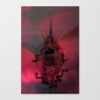 Swallowed In The Sea Canvas Print