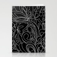 Nature black&white Stationery Cards