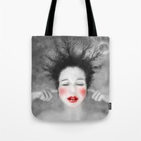 The noise of the world Tote Bag