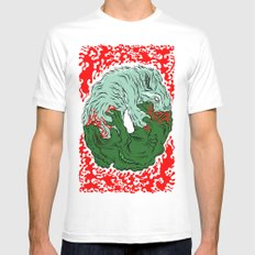 Beast Feast Mens Fitted Tee White SMALL