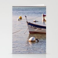 French boats - St Marc 6976 Stationery Cards