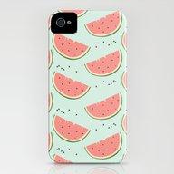 Watermelon iPhone (4, 4s) Slim Case