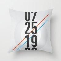 07/25/1983 Throw Pillow
