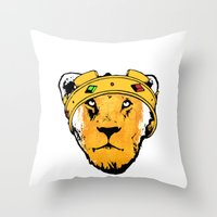 Phony King Throw Pillow