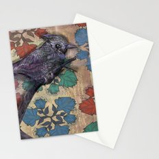 Weird bird Stationery Cards