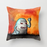 Tasmo Throw Pillow
