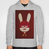 We Are All Rabbits \ Fla… Hoody
