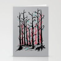 Stationery Card featuring Hide and Seek by Don Lim