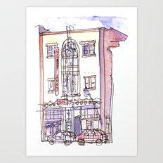 Chop Suey Cafe Art Print