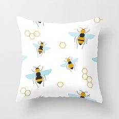 Swarm Throw Pillow