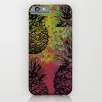 iPhone & iPod Case featuring PineApple Fiesta by IamDesigner