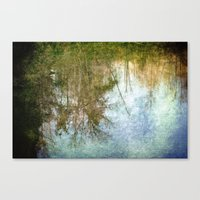 You Can Never Look Back Canvas Print