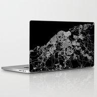 La Habana Map Cuba Laptop & iPad Skin