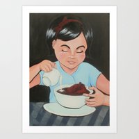 Eat It (Before It Gets Cold) Art Print