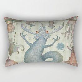 Rectangular Pillow - Marine Curiosities II - Vladimir Stankovic