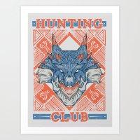 Hunting Club: Lagiacrus Art Print