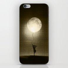 Moon Play iPhone & iPod Skin