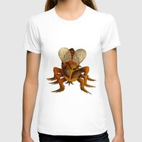 bee T-shirts featuring bee by giol's