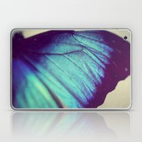 Black and Blue Wing Laptop & iPad Skin