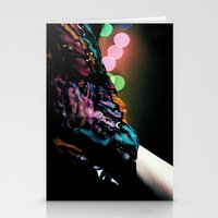 Bokeh Scarf II Stationery Cards
