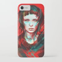 portrait iPhone & iPod Cases featuring Wasp by Alice X. Zhang
