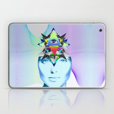 Psychedelic Woman Laptop & iPad Skin