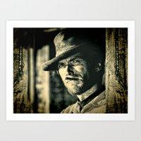 Clint Eastwood - The Goo… Art Print