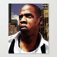 King of New York? Canvas Print