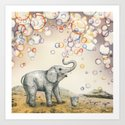 Bubble Dreams Art Print