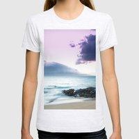Paako Beach Treasures Womens Fitted Tee Ash Grey SMALL