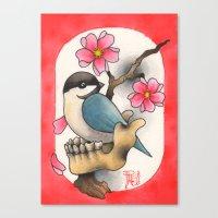 CHICKBONE Canvas Print
