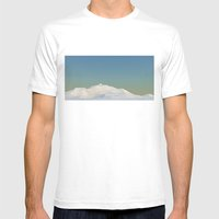 New Metaballz Terrain Mens Fitted Tee White SMALL
