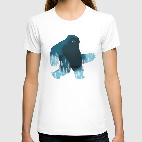 Yeti at Night T-shirt