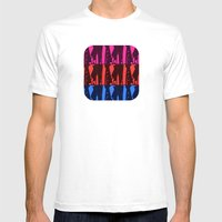 Alien Surf Fiend Mens Fitted Tee White SMALL