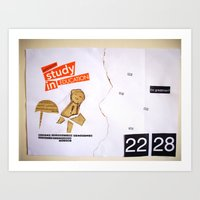Draw your days : day#1 Creatively Human Talent Art Print