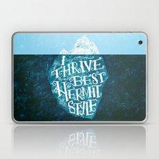 Hermit Iceberg Laptop & iPad Skin