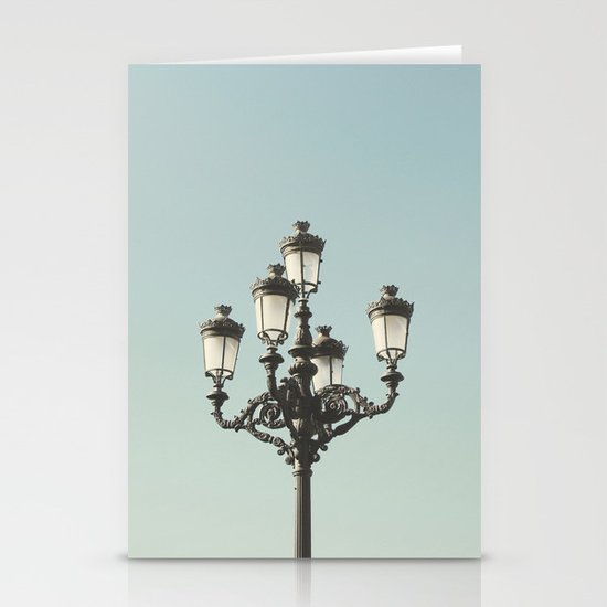 Lamppost Stationery Card
