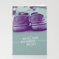 Not All Those Who Wander… Stationery Cards