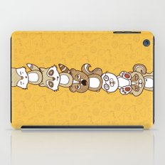 Woodland Creature Totem Pole iPad Case