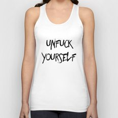 Unfuck Yourself Unisex Tank Top