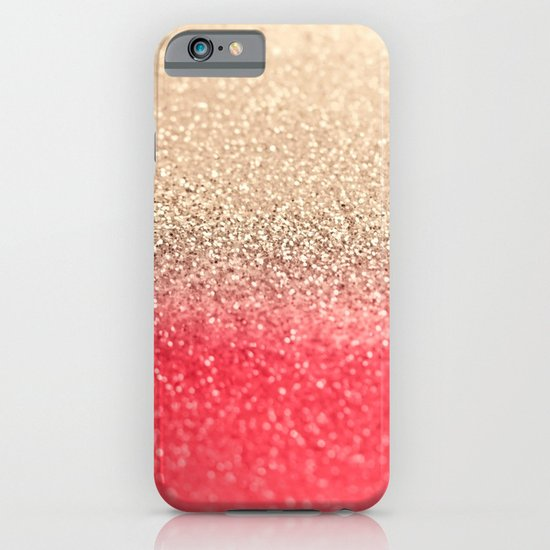 GOLD CORAL iPhone & iPod Case