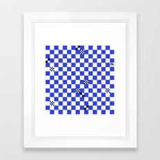 The tiler's odd sense of humor  Framed Art Print