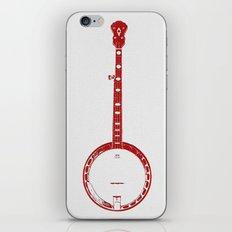 Minimalistic Banjo iPhone & iPod Skin