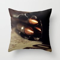 More Questions Than Time Throw Pillow