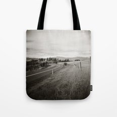 {  on the road } Tote Bag