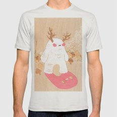 Wendigo Mens Fitted Tee Silver SMALL