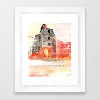 Oh the Remnants Framed Art Print